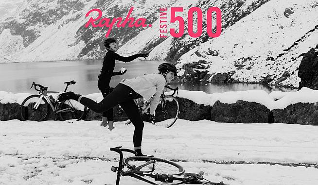 See out the year in style with the Rapha Festive 500 challenge.