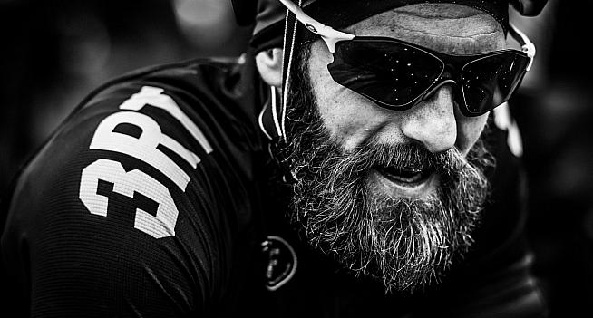 After the effort of each climb there's a chance to catch breath and chat before the next. Photos: Colin Morley