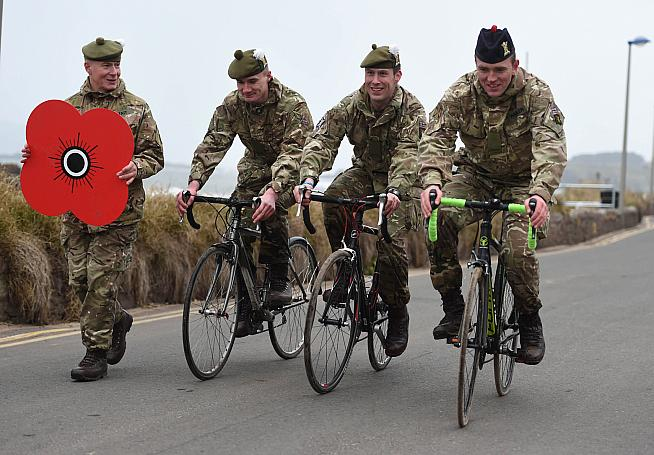 The Poppyscotland Sportive raises funds for the Armed Forces and their families.