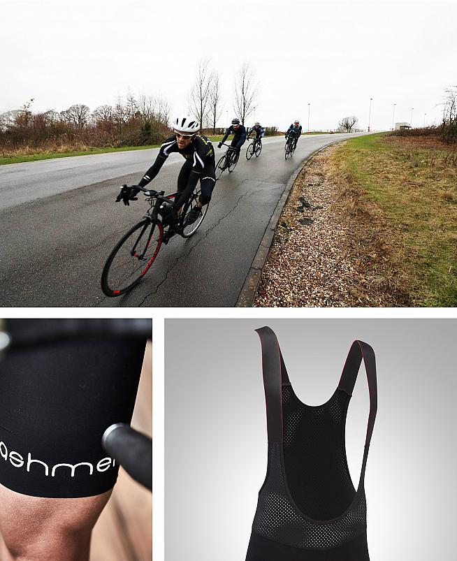 Ashmei's v.3 bib shorts impressed Dan through the winter race season. Top image: Wayne Crombie