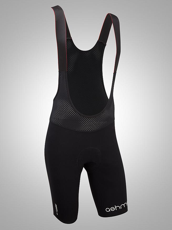 Wind and water resistant and with a race fit - Ashmei's Bib Shorts tick all the boxes.