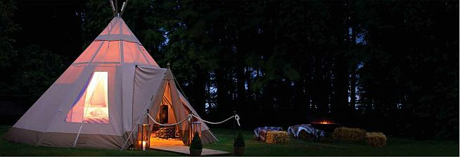 Treat yourself to a spot of luxury at the Camp Festival next Saturday.