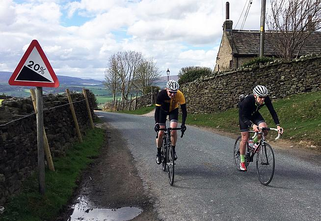 Take Simon's wheel on a tour of his favourite Yorkshire hill climbs.
