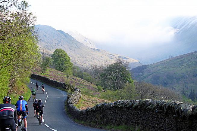 The beauty - and savage gradients - of the Lake District awaits riders on the Fred Whitton.