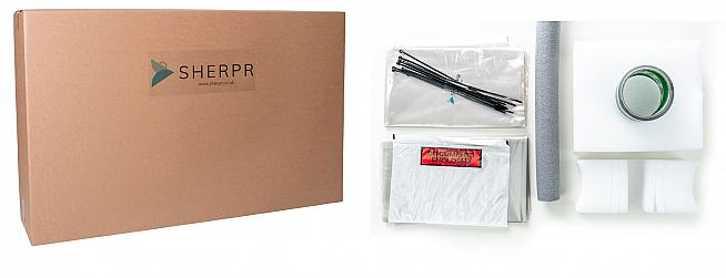 SHERPR offer a choice of bike boxes complete with everything you'll need to package your bike for delivery.