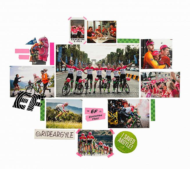 Rapha are to sponsor Team EF Education First from 2019.