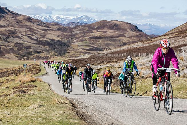 Nigel Shaddick is training to take part in his third Etape Loch Ness this April.