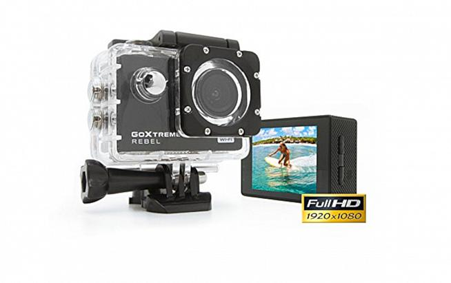The GoXtreme Rebel offers 1080p video capture for under £40.