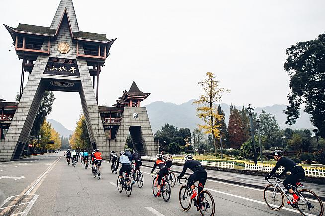 The new Haute Route Qingcheng will feature a mountain time trial and the chance to race giant pandas (possibly).