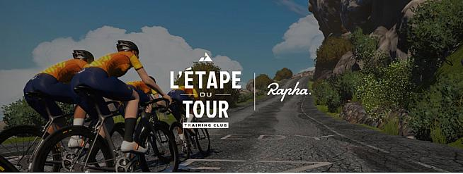 Ride the Etape du Tour sportive with Zwift and Rapha.