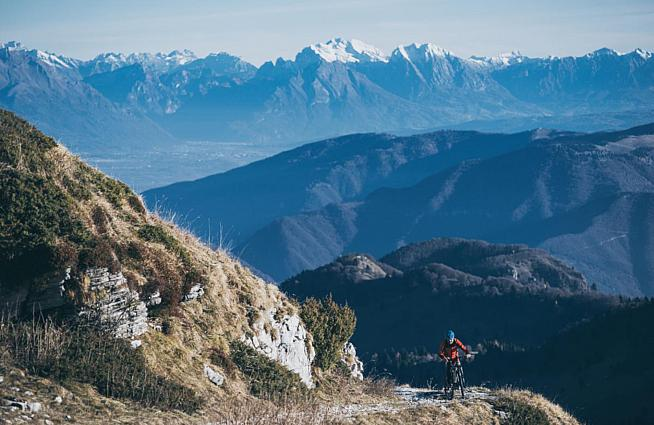 The Veneto Trail and Veneto Gravel feature stunning off-road routes in northern Italy.