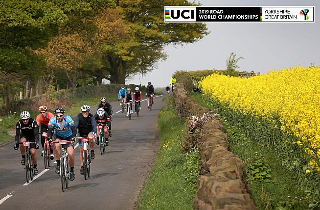 Experience the route of the 2019 UCI Road World Championships on the official sportive.