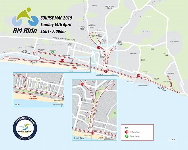 Cycle the Brighton Marathon course with the BM Ride sportive this April.