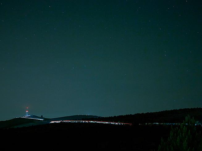Mont Ventoux by night. That's just the warm-up. Credit: Michael Blann Photography