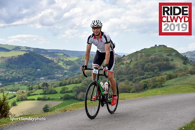 A new 100-mile route is on offer at this year's Ride Clwyd sportive.