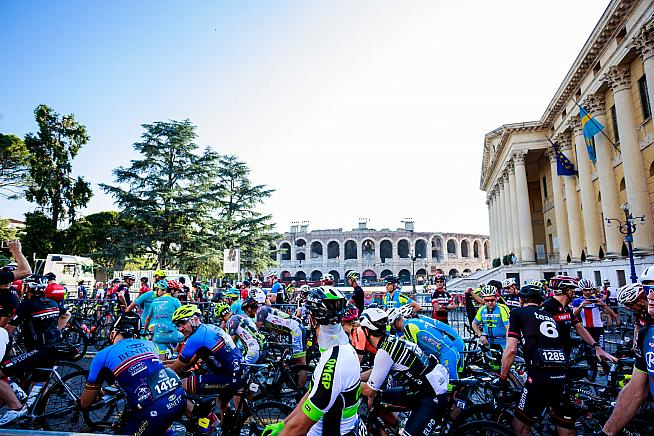 Beautiful city with great scenery and a chance to race Cipollini for a European title - the Granfondo Verona has it all.