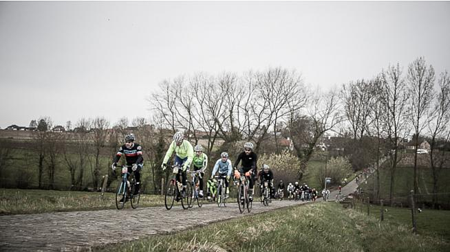 Imagine this but in full colour. The new Vlaanderens Mooiste sportive offers a taste of Flanders in summer.