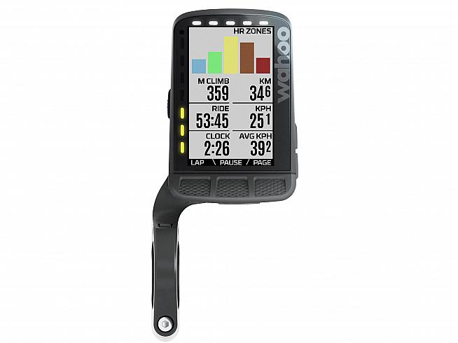 ...is a full featured cycling computer delivering all your ride metrics and mapping - now in colour.