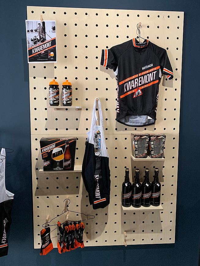 Beer and cycling come together perfectly in the Kwaremont brand