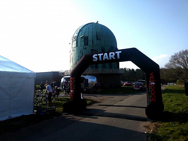 Herstmonceux Observatory is a fitting venue for your early season fitness check.