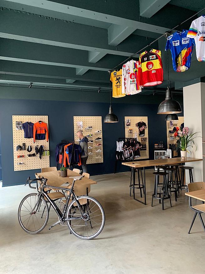 A sleek interior for Velusso Bruges