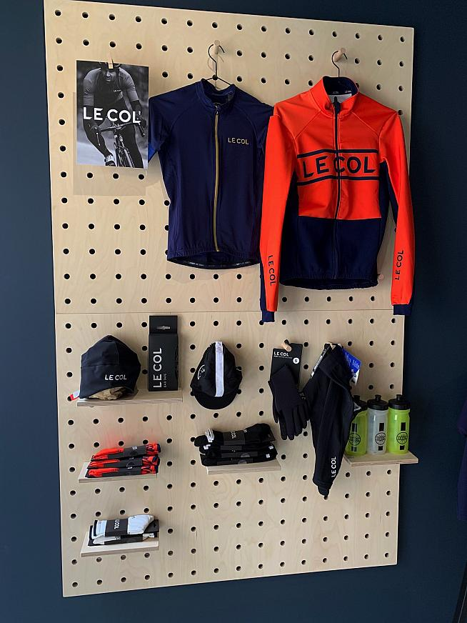 A full range of Le Col gear is on offer