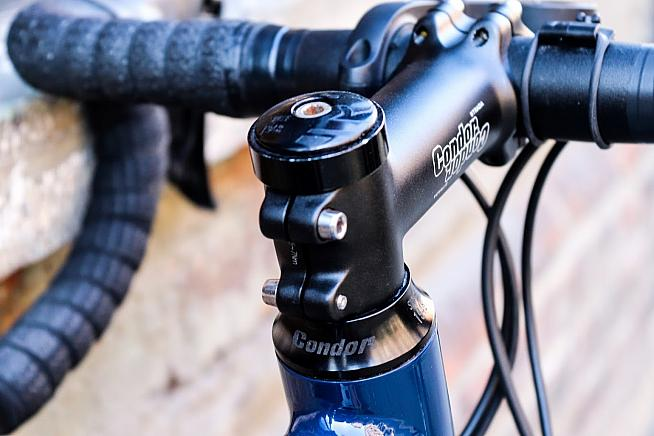 Headsets can get notchy over time - but swapping for new bearings is a relatively easy fix.