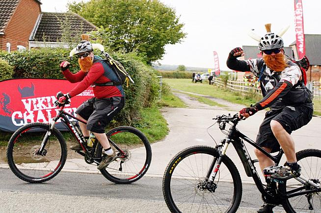 The Viking Challenge is an off-road ride that follows the ancient Viking Way.