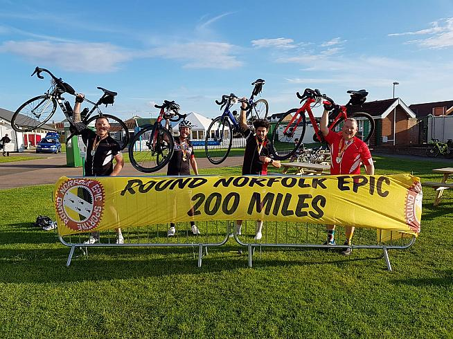 The Round Norfolk Epic is definitely something to Whatsapp home about. Photo: Norfolk Cycling Events