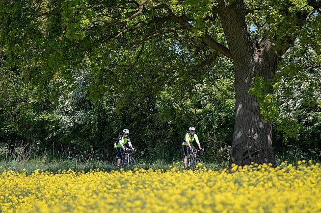 The 200-mile course offered plenty of opportunity to enjoy Norfolk in bloom. Photo: Norfolk Cycling Events