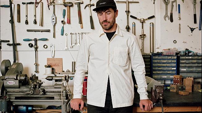 11AM and Mike still hadn't dared touch a tool in his new shirt.