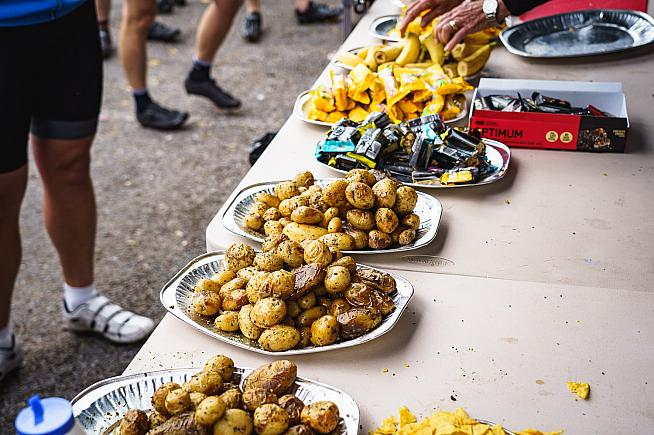 Jersey royal? Skip the gels - a spud is just as good according to one study.