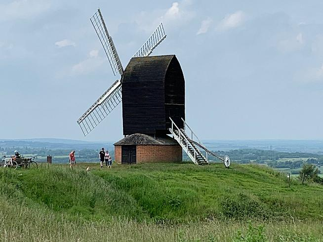 All the best hills have a windmill at the top.