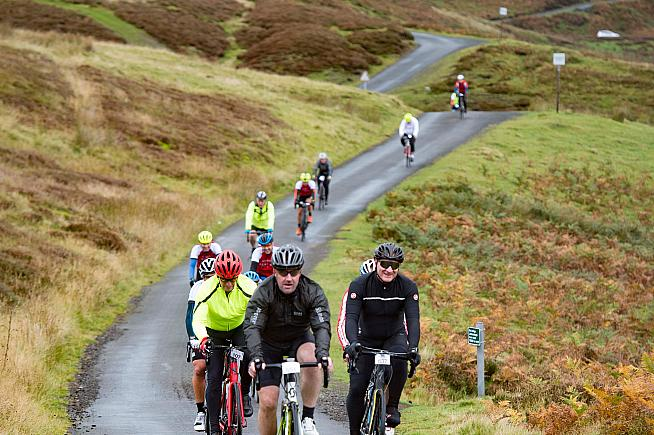 The Poppyscotland Sportive is a fundraiser for the armed forces charity.