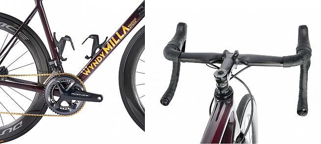 Updated tube shaping boosts aerodynamic performance over the original Massive Attack.