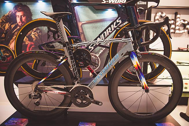 View an exclusive selection of bicycles and cycling kit at the exhibition.