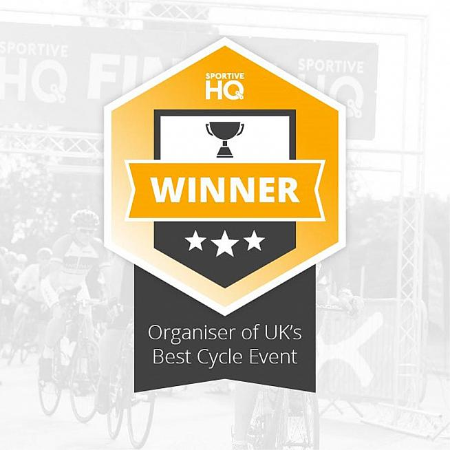 Sportive HQ has taken the award for UK's best sportive for The Flat 100.