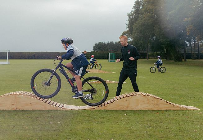 Olympic track champion Ed Clancy and Graham Briggs are set to train the next generation of cyclists.
