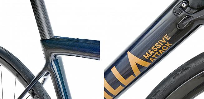 Everything from the geometry and groupset to the paint finish is custom designed to suit the individual rider.