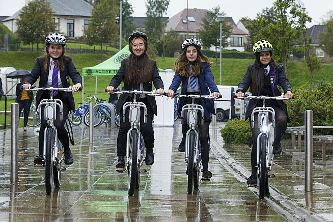 The project is run by Forth Environment Link with nextbike and funding from Transport Scotland.