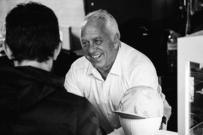 Greg Lemond charmed the crowds with tales from his racing days. Sean Hardy  Rouleur Classic LD