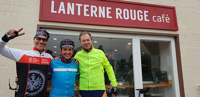 Carlos Sastre is among the patrons at Scotland's winner - Lanterne Rouge in East Lothian.