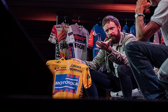 Sir Bradley Wiggins was among the stars on stage. Sean Hardy  Rouleur Classic LDN