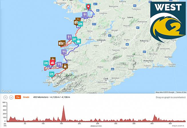 Tackle the Conor Pass on stage 2 of Wild Atlantic Etape West.