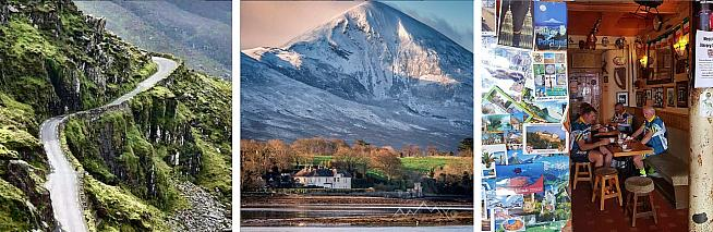 Stunning scenery and traditional Irish hospitality await cyclists on the Wild Atlantic Etape.