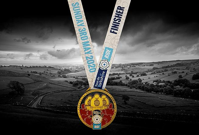 Artist Mackenzie Thorpe has designed the medal for finishers on the Ride.