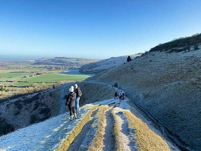 The descent from Devil's Dyke to Fulking was icing on a cyclocross cake.