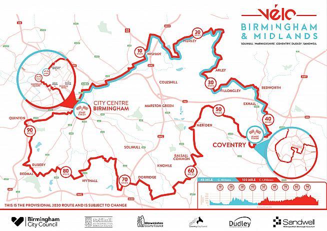 Velo Birmingham & Midlands returns on Sunday 21 June 2020.