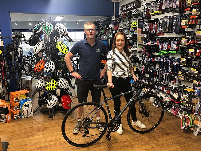 Townsend Cycles in Cambridge have provided Pippa with a bike for the challenge.