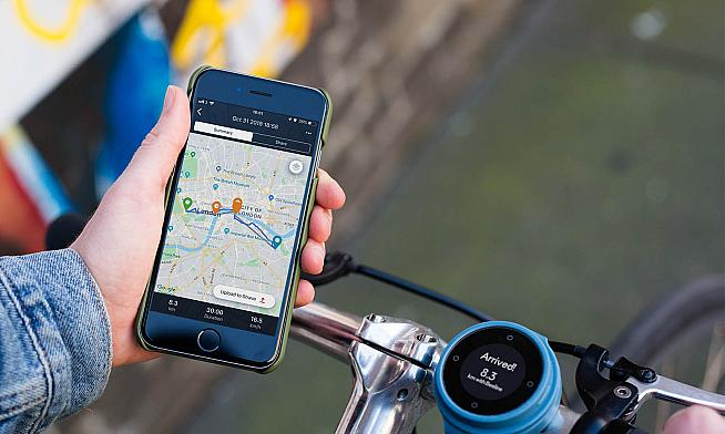 Plot a route on the accompanying app and the Beeline will point the way.